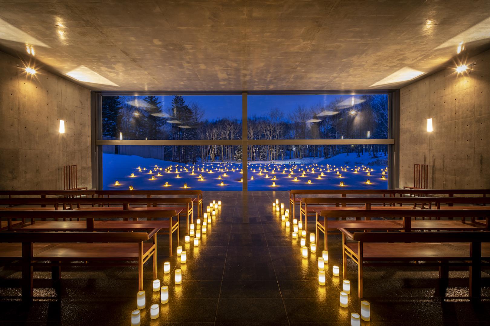 水の教会 クリスマスウエディングプラン 2019