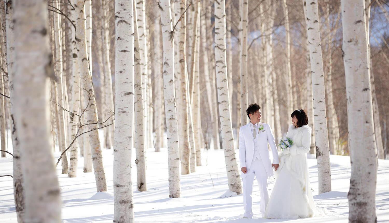 <p>この時期ならではの3つの魅力<br /> その2 雪のロケーションフォト</p> 4