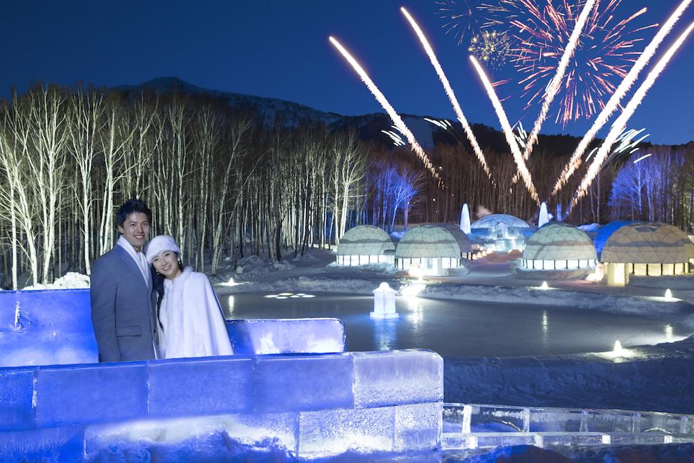 氷の教会 ナイトタイムウエディングプラン 2020